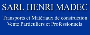 SARL MADEC – Négoce de Matériaux – Transports – Muzillac – Morbihan 56